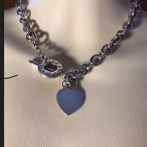 Authentic TIFFANY & CO Sterling Silver Necklace.